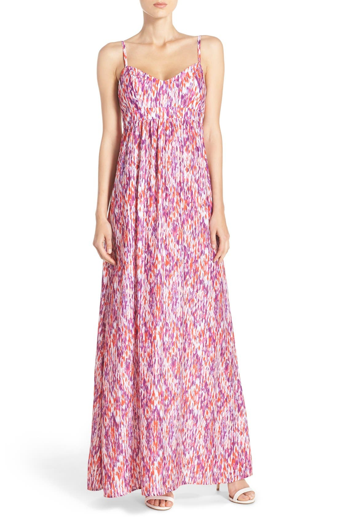 Alternate Image 1 Selected - Felicity & Coco Colby Woven Maxi Dress (Regular & Petite) (Nordstrom Exclusive)