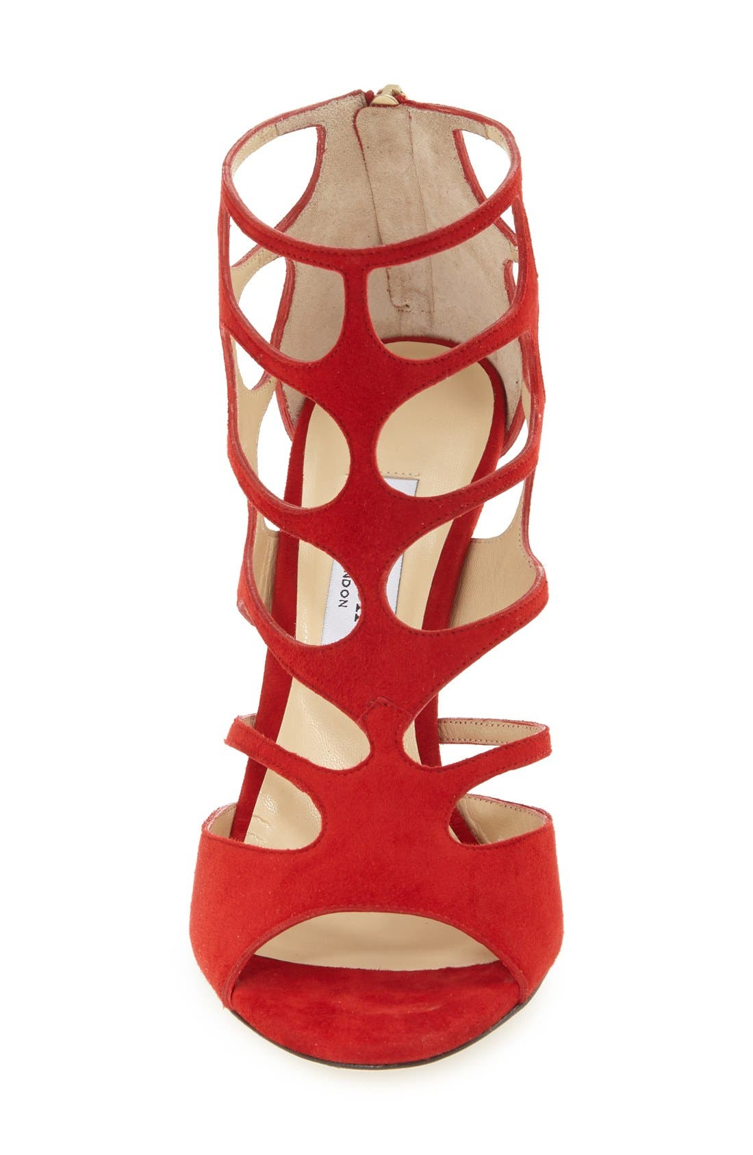 Alternate Image 3  - Jimmy Choo 'Ren' Cutout Sandal (Women)