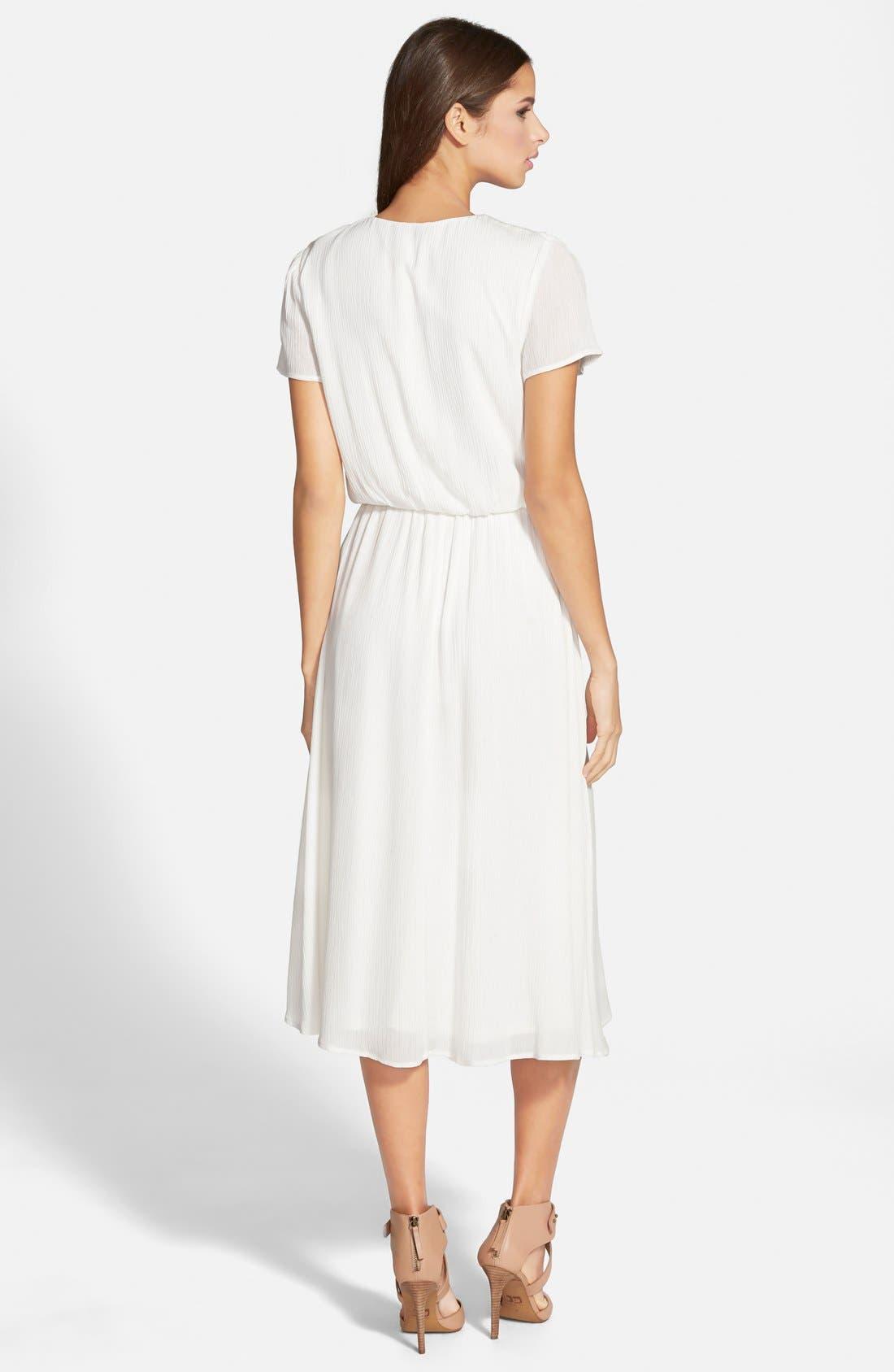 Alternate Image 2  - Wayf Blouson Midi Dress