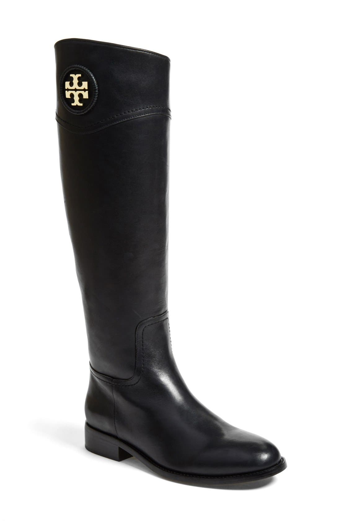 Alternate Image 1 Selected - Tory Burch 'Ashlynn' Riding Boot (Women) (Nordstrom Exclusive)