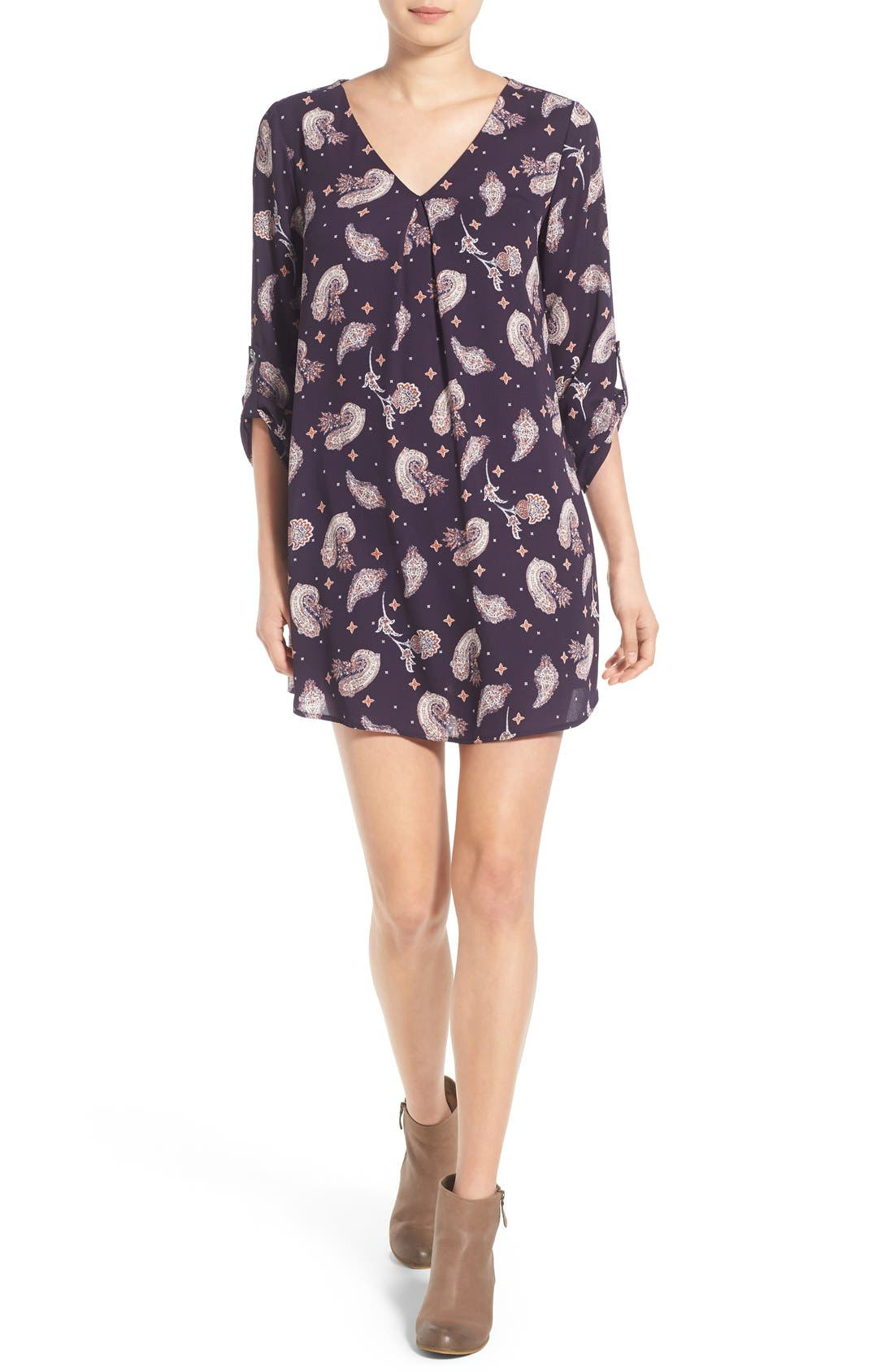 Alternate Image 1 Selected - Lush 'Karly' Shift Dress