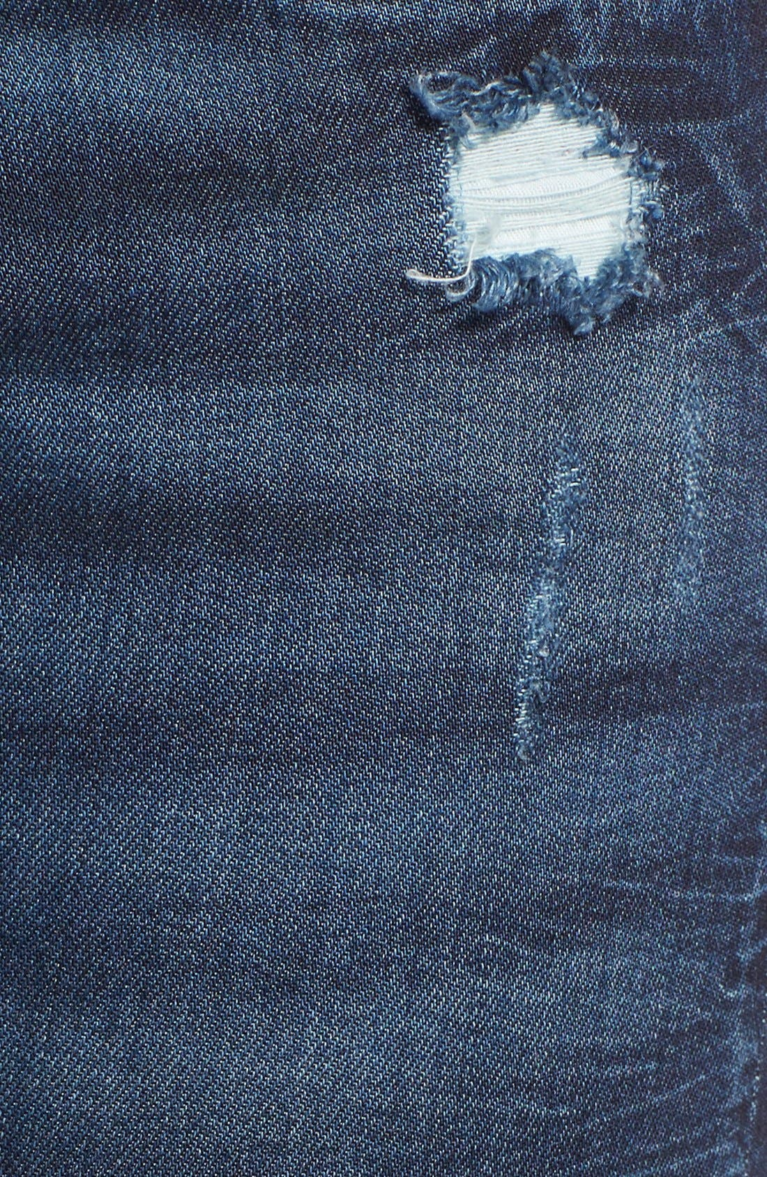 Alternate Image 5  - BLANKNYC 'Pros and Ex Cons' Distressed Skinny Jeans