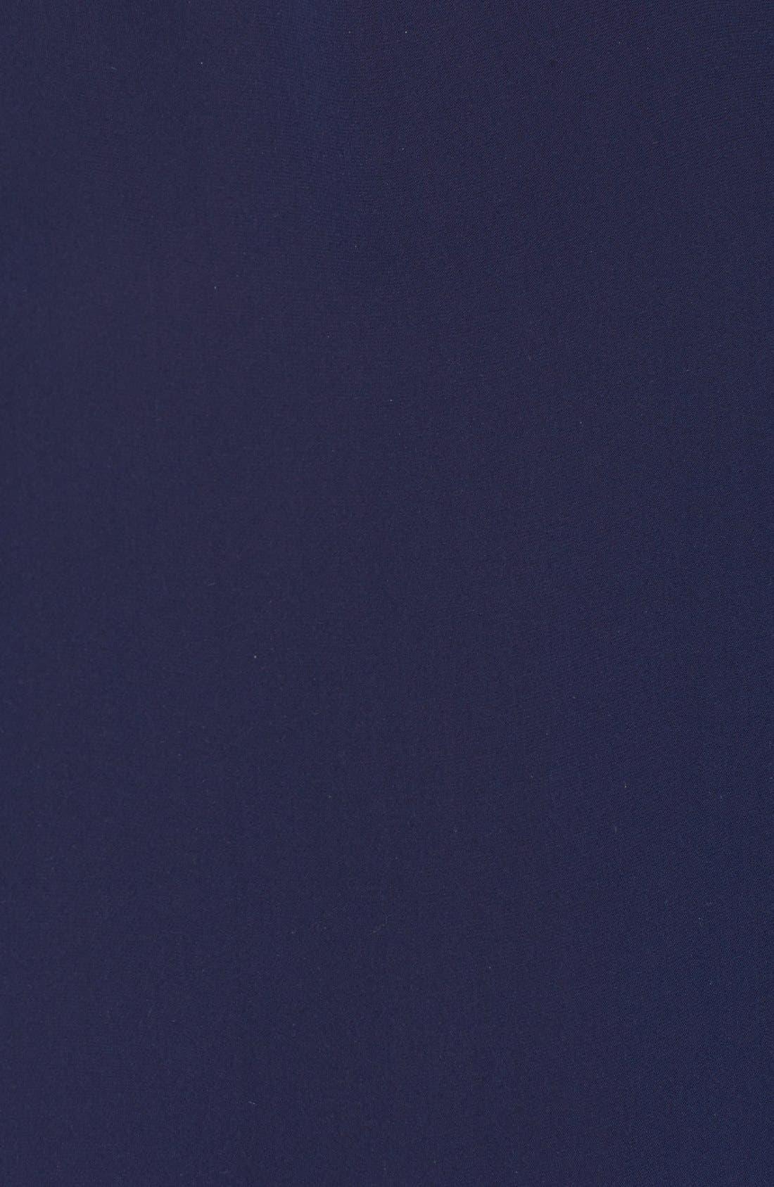Alternate Image 5  - Diane von Furstenberg 'Maggy' Short Sleeve Button Back Silk Blouse