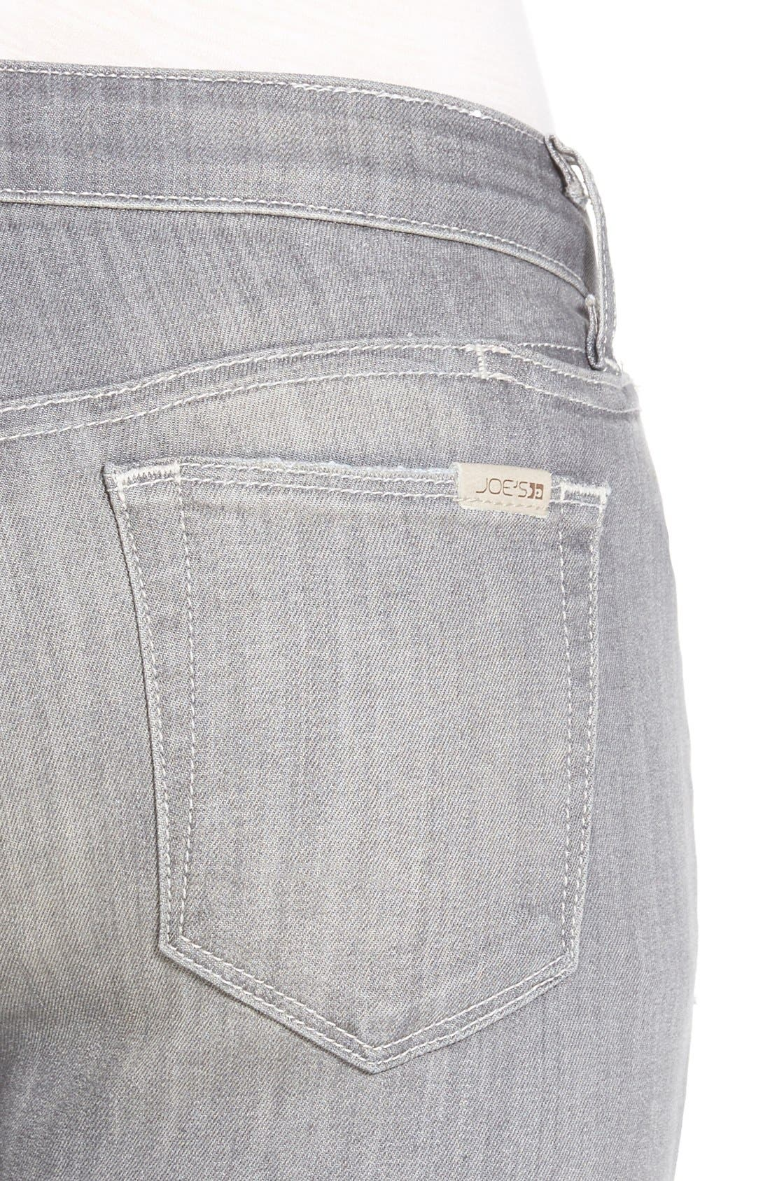 Alternate Image 4  - Joe's 'Cool Off - Vixen' Ankle Skinny Jeans with Phone Pocket (Justina)