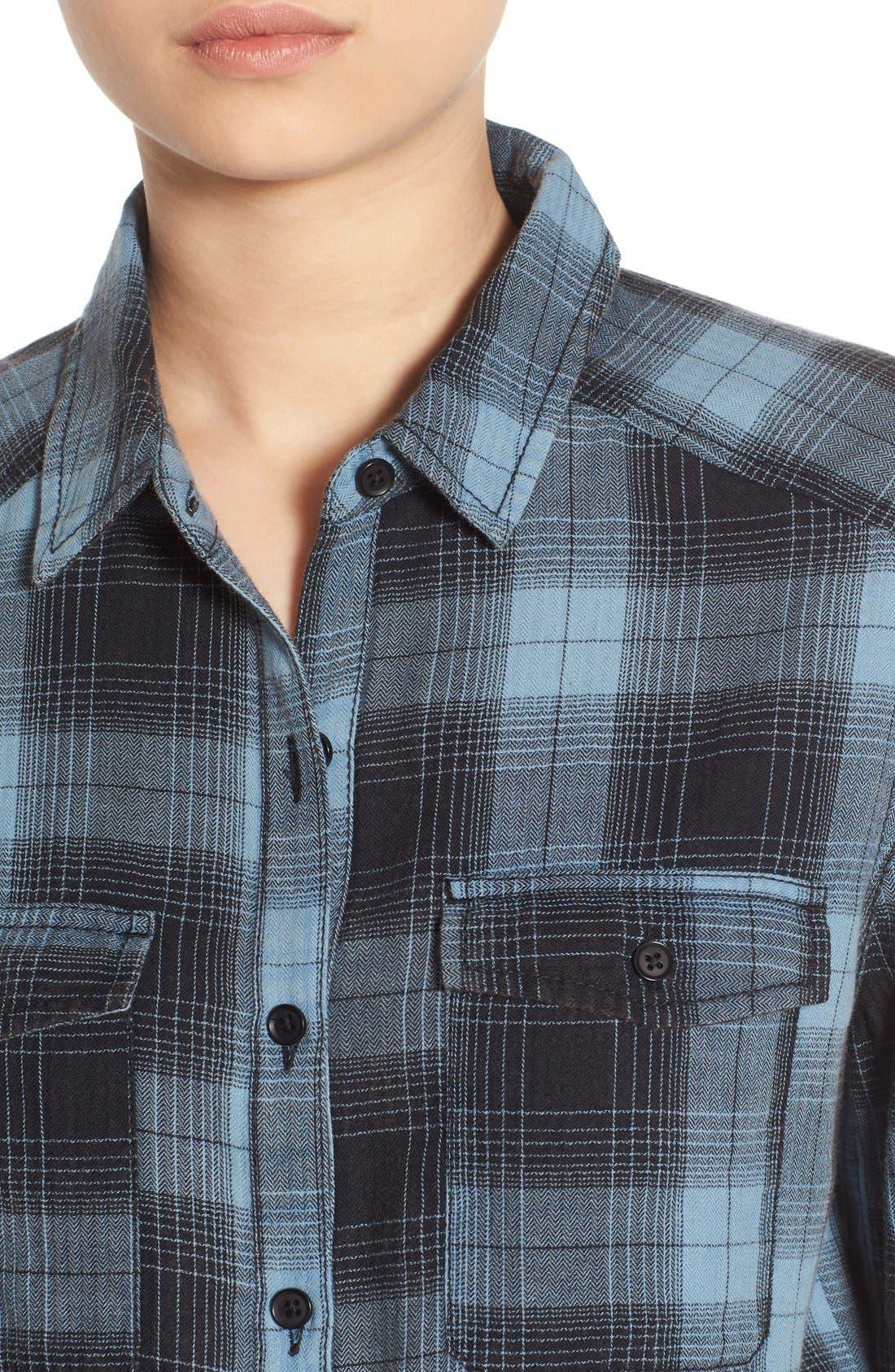 Alternate Image 4  - BP. Plaid Shirt