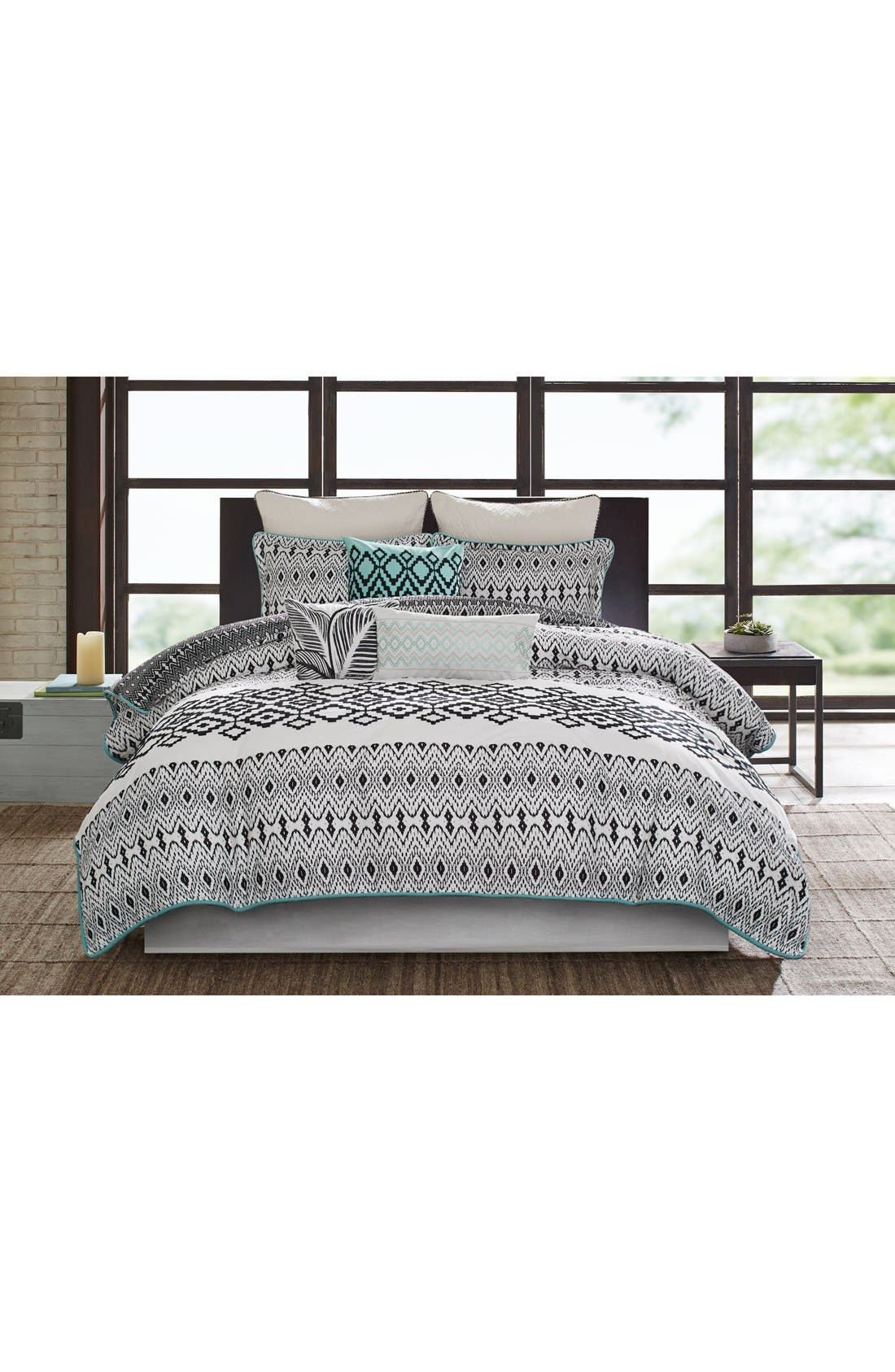 ECHO Kalea Reversible Duvet Cover & Sham Set