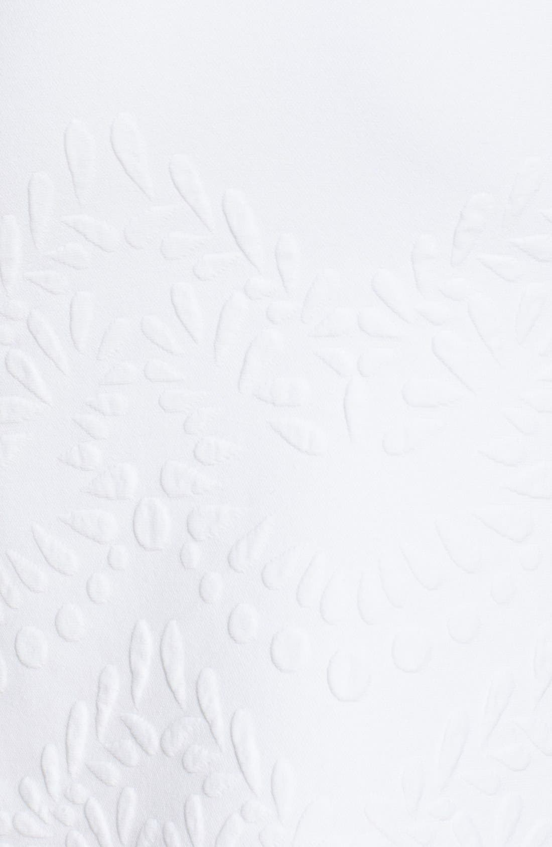 Alternate Image 3  - Alexander McQueen Embossed Jacquard Knit Pencil Skirt