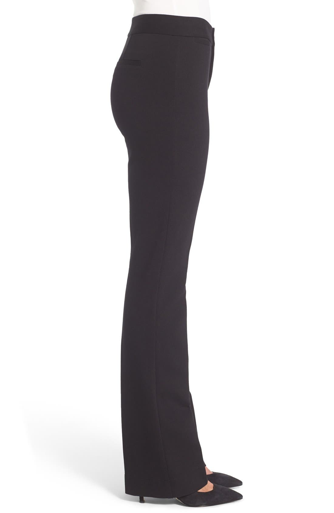 Alternate Image 3  - NYDJ Michelle Stretch Ponte Trousers (Regular & Petite)