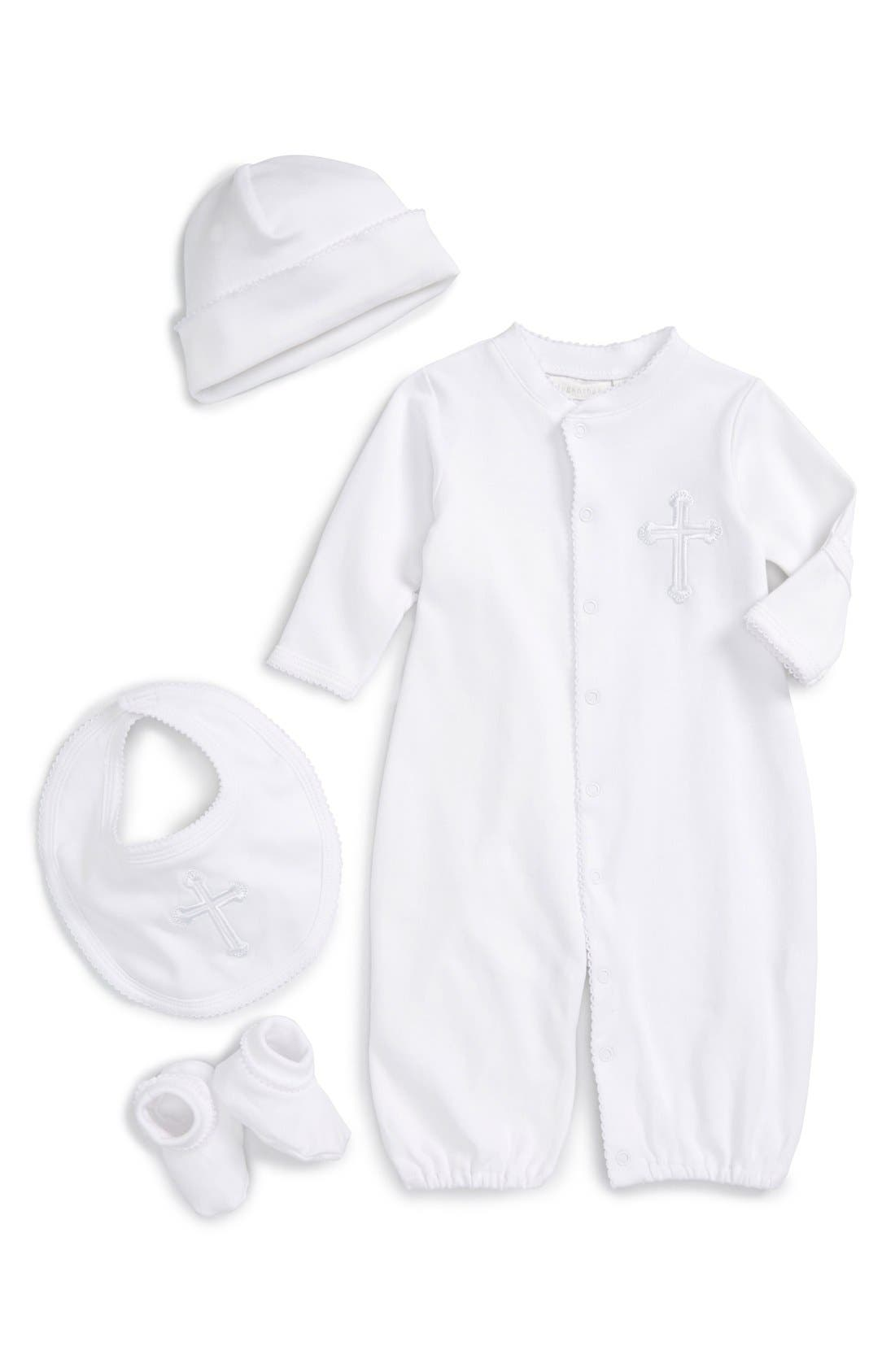 Elegant Baby Four Piece Christening Gift Set (Baby)