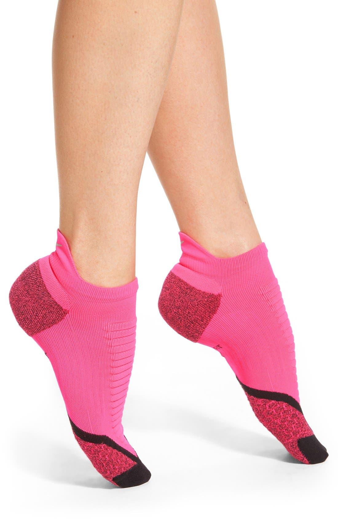 Alternate Image 1 Selected - Nike 'Elite' Cushioned No-Show Tab Running Socks