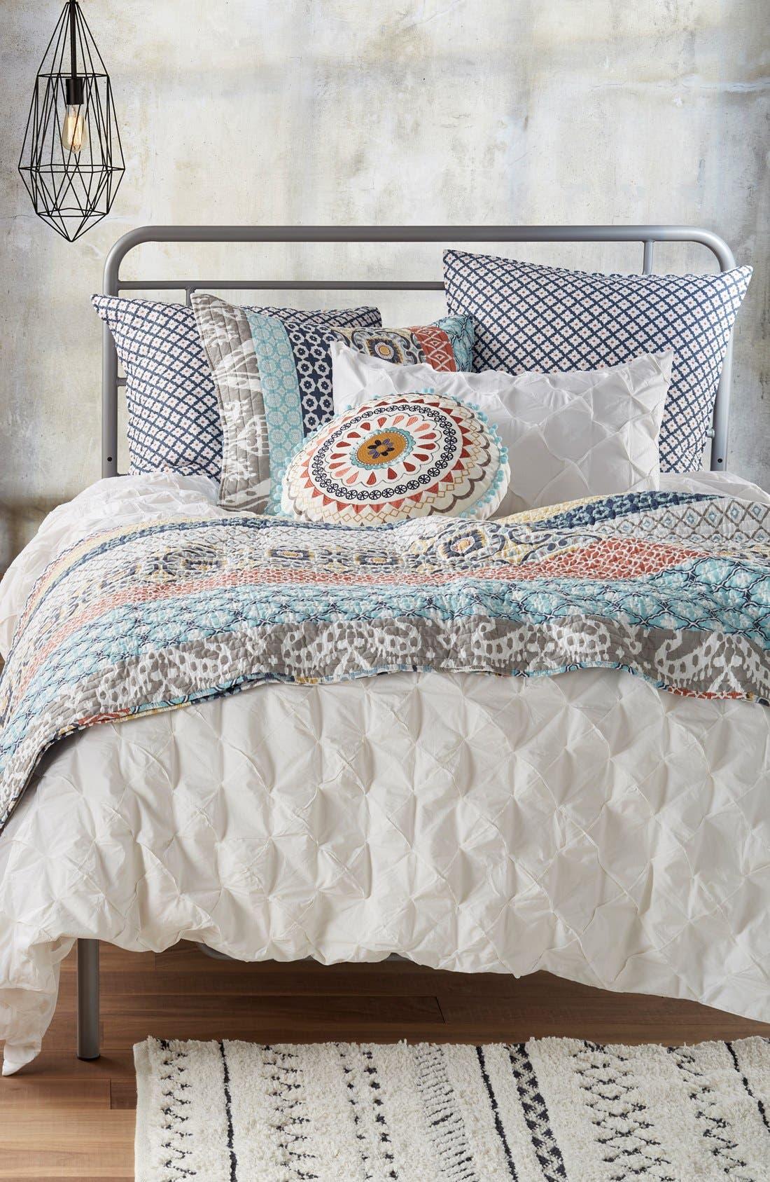 Alternate Image 4  - Levtex Embroidered Round Pillow