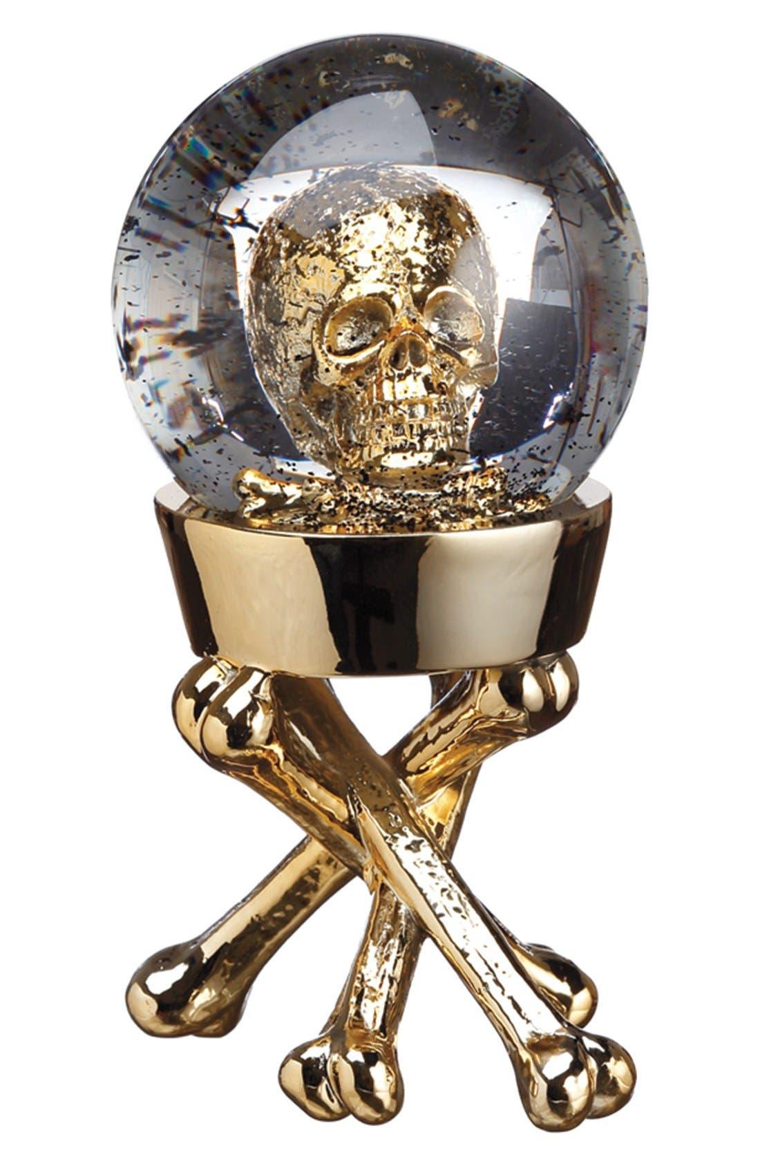 Alternate Image 1 Selected - ALLSTATE Skull Globe Decoration