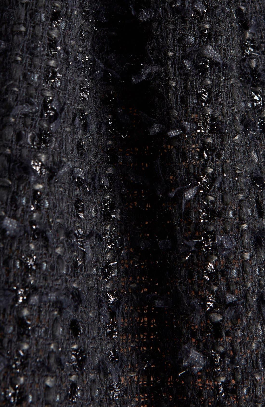 Alternate Image 3  - Simone Rocha Gathered Tweed Miniskirt