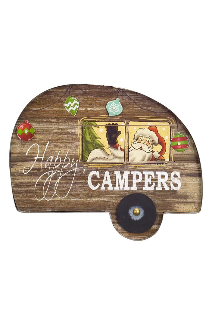 melrose gifts 39 happy campers 39 led wall plaque nordstrom. Black Bedroom Furniture Sets. Home Design Ideas