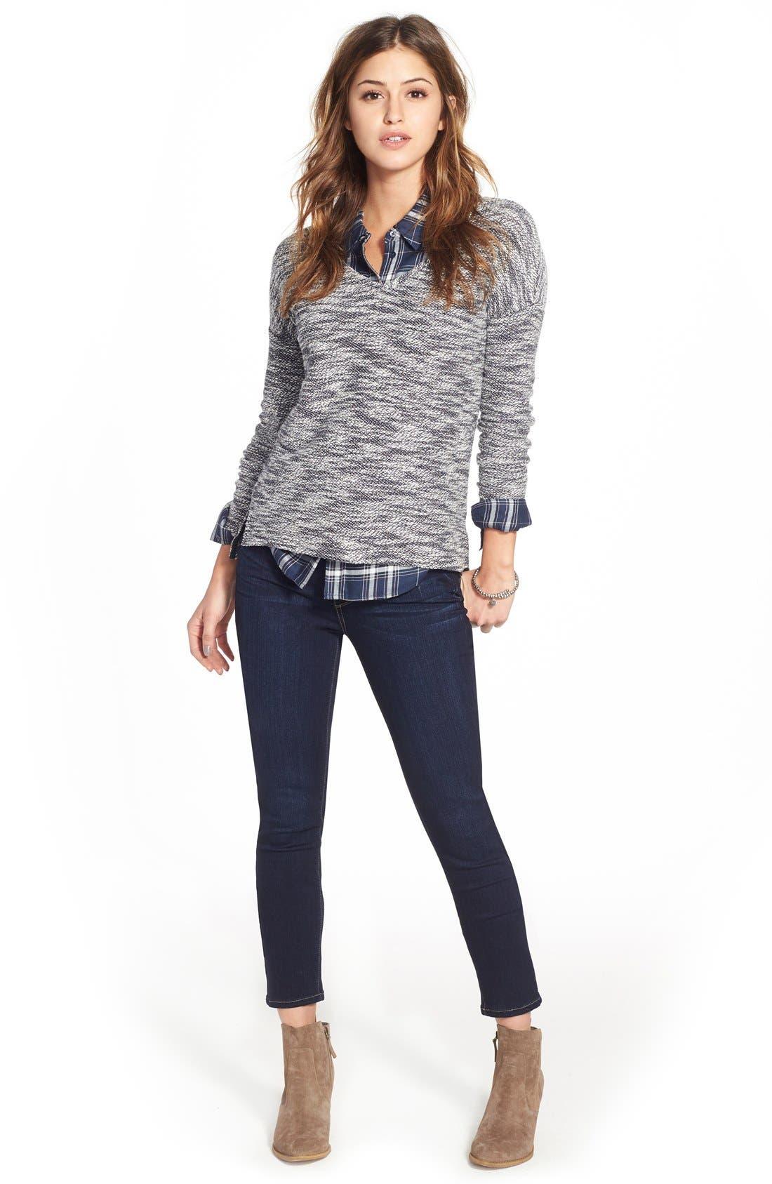 Alternate Image 2  - PAIGE 'Transcend - Verdugo' Ankle Skinny Jeans (Tari)