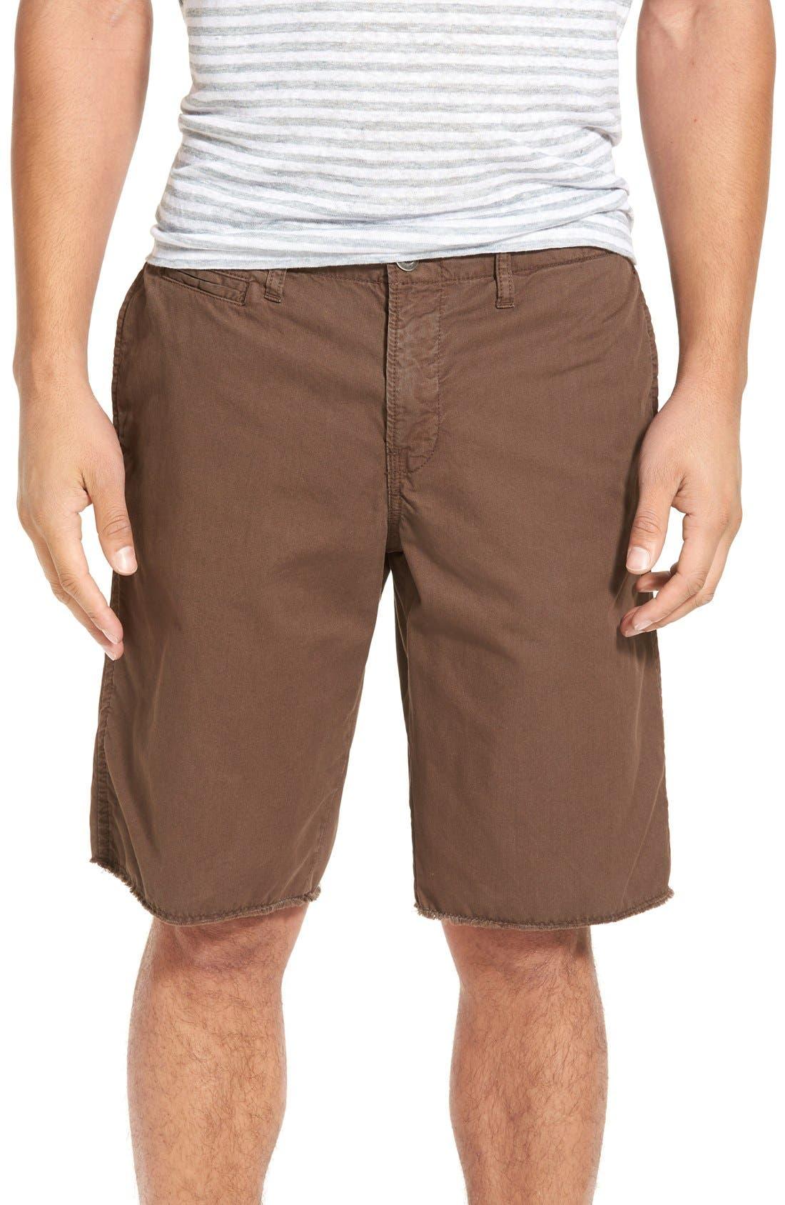 Original Paperbacks 'St. Barts' Raw Edge Shorts