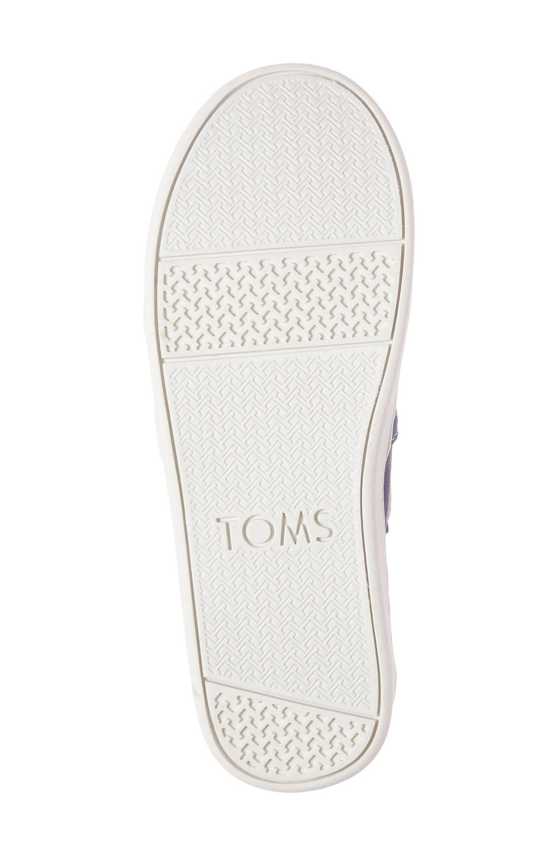 Alternate Image 4  - TOMS 'Bimini - Youth' Slip-On (Toddler, Little Kid & Big Kid)