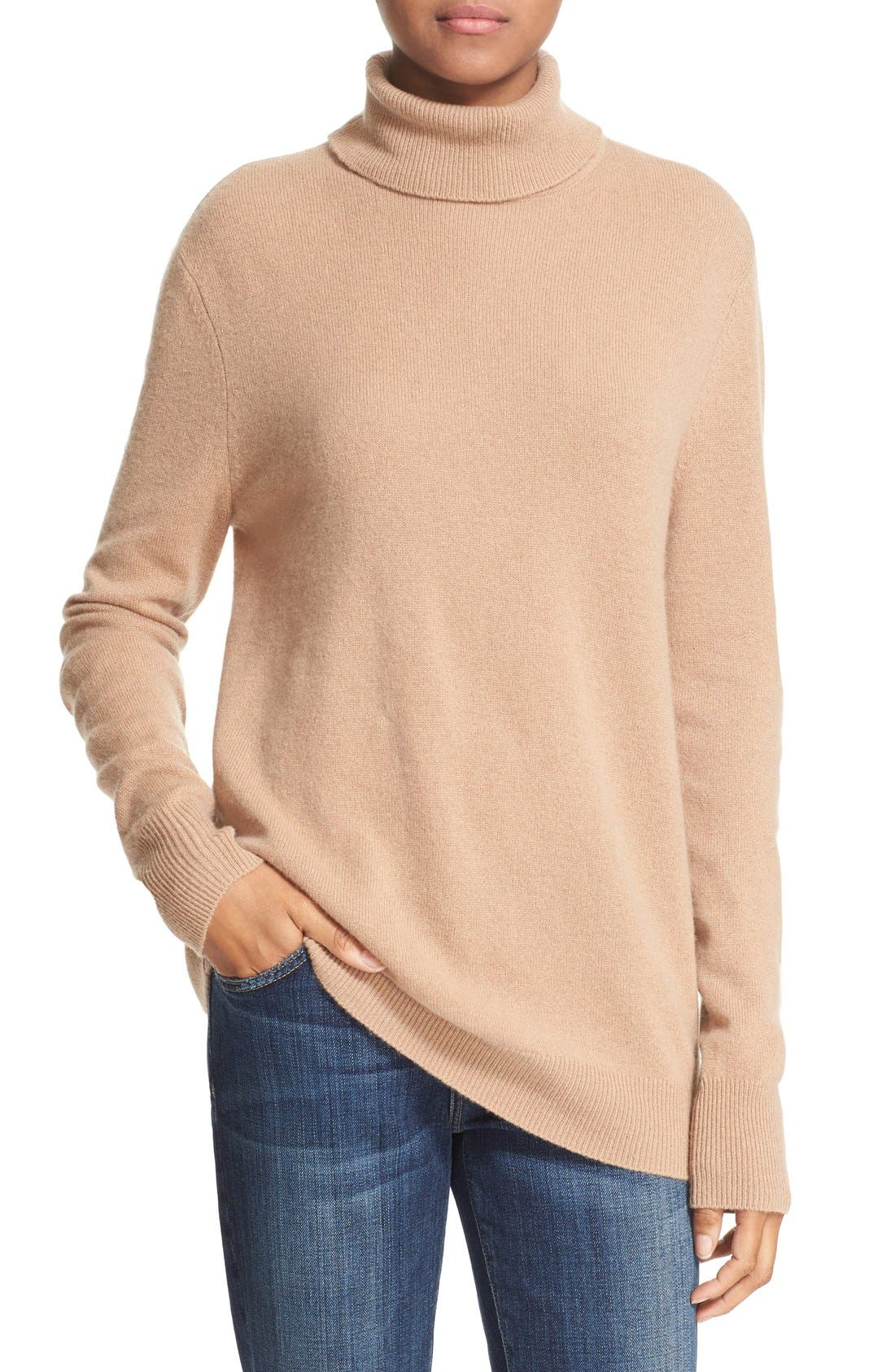 Main Image - Equipment 'Oscar' Cashmere Turtleneck