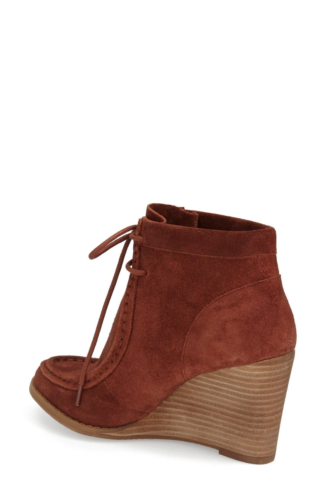 Alternate Image 2  - Lucky Brand 'Ysabel' Wedge Chukka Boot (Women)