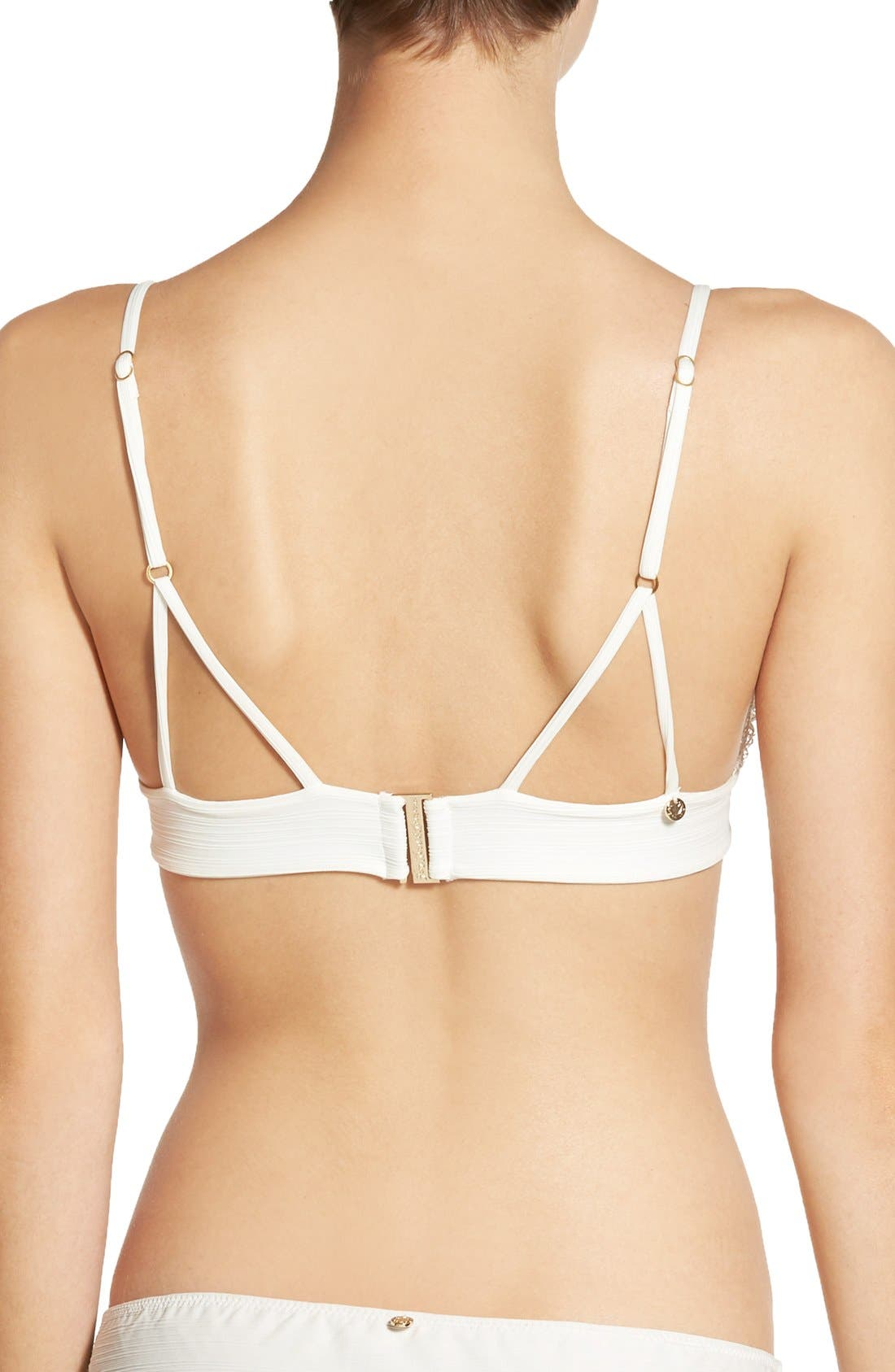 Alternate Image 2  - For Love & Lemons 'Maldives' Triangle Bikini Top