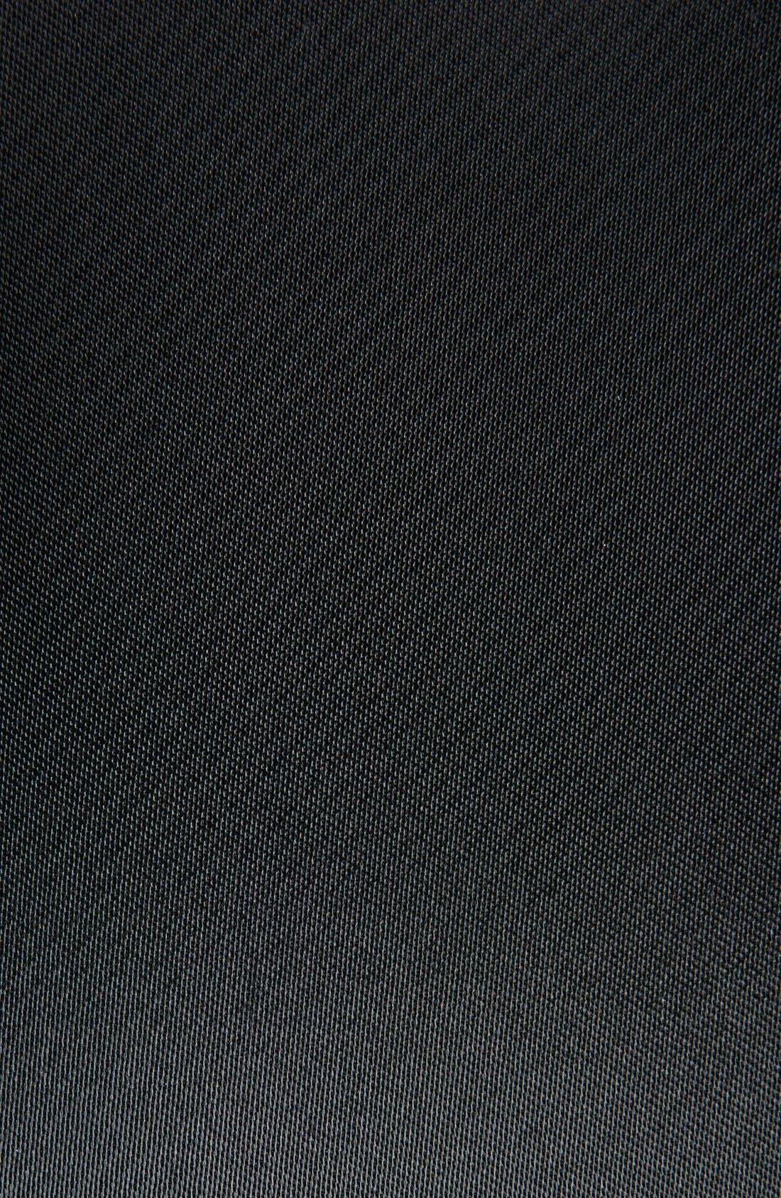 Alternate Image 3  - Saint Laurent 'Teddy' Oversize Patch Satin Bomber Jacket