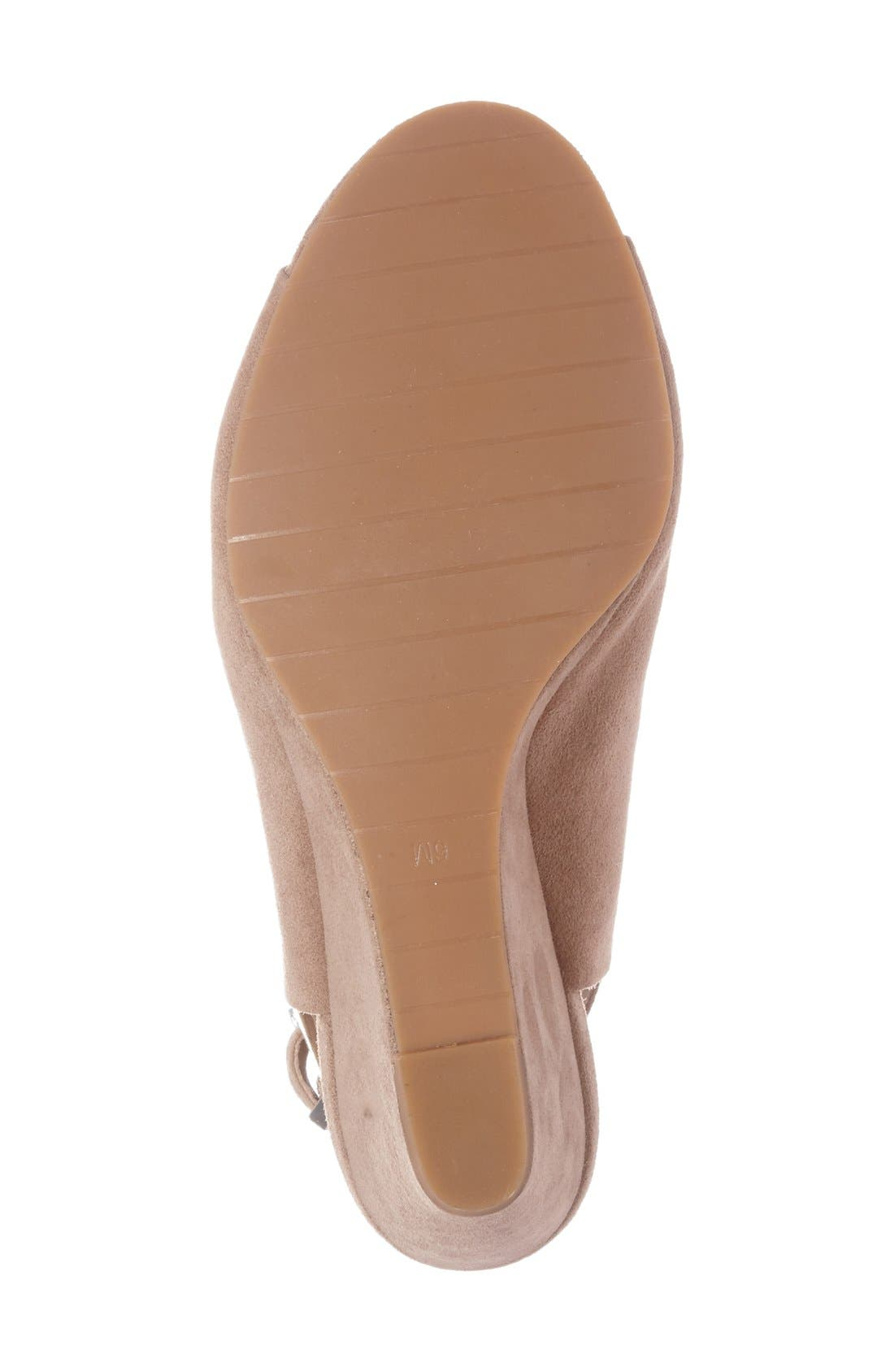 Alternate Image 4  - Kenneth Cole New York 'Dana' Wedge Sandal (Women)