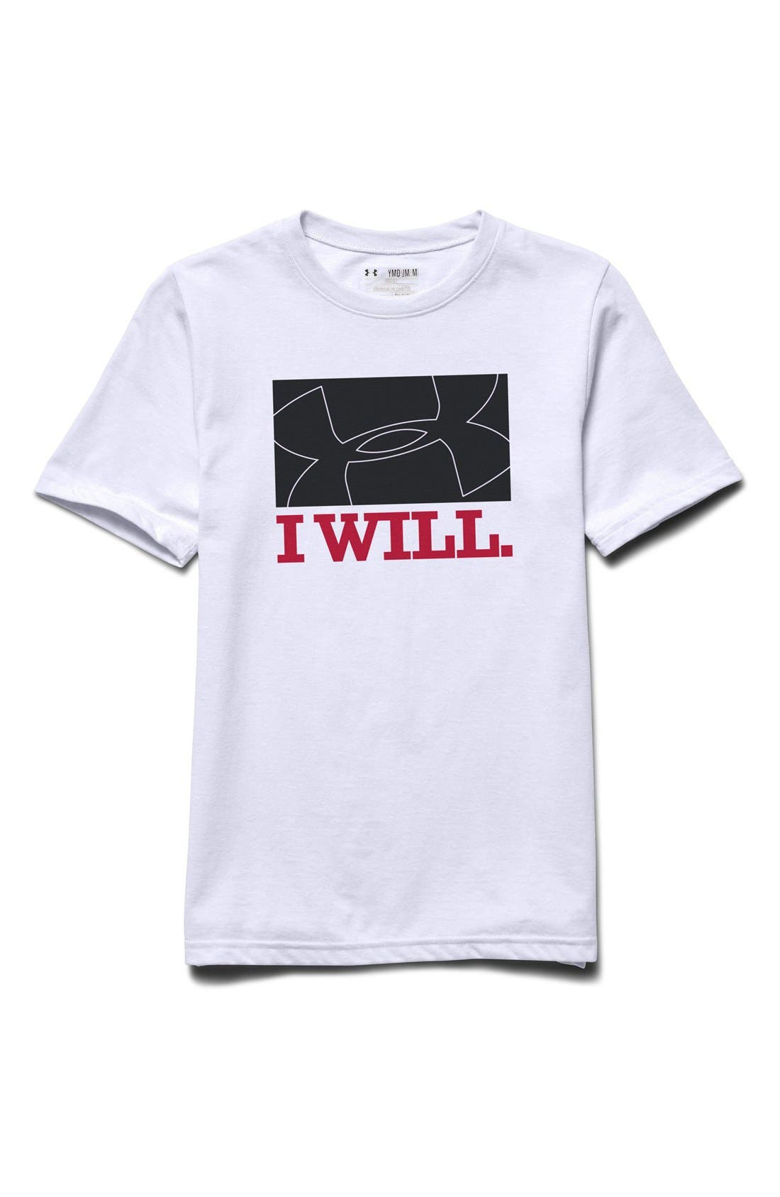 Under Armour 'I Will' Graphic T-Shirt (Big Boys)