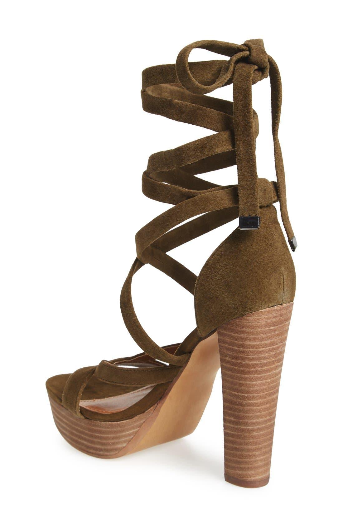 Alternate Image 2  - Steve Madden 'Laceit' Platform Sandal (Women)