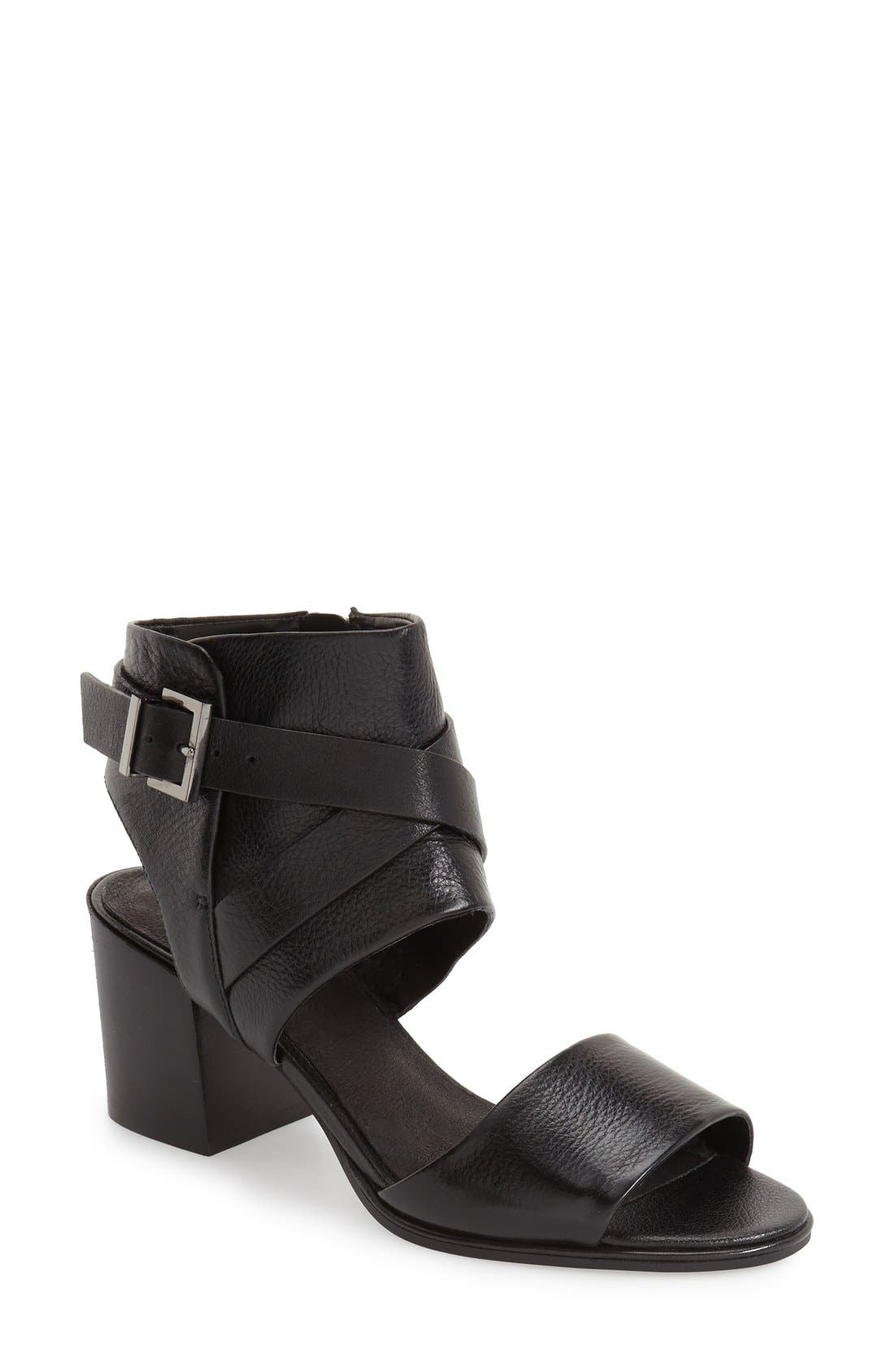 Kenneth Cole New York 'Chara' Leather Sandal (Women)