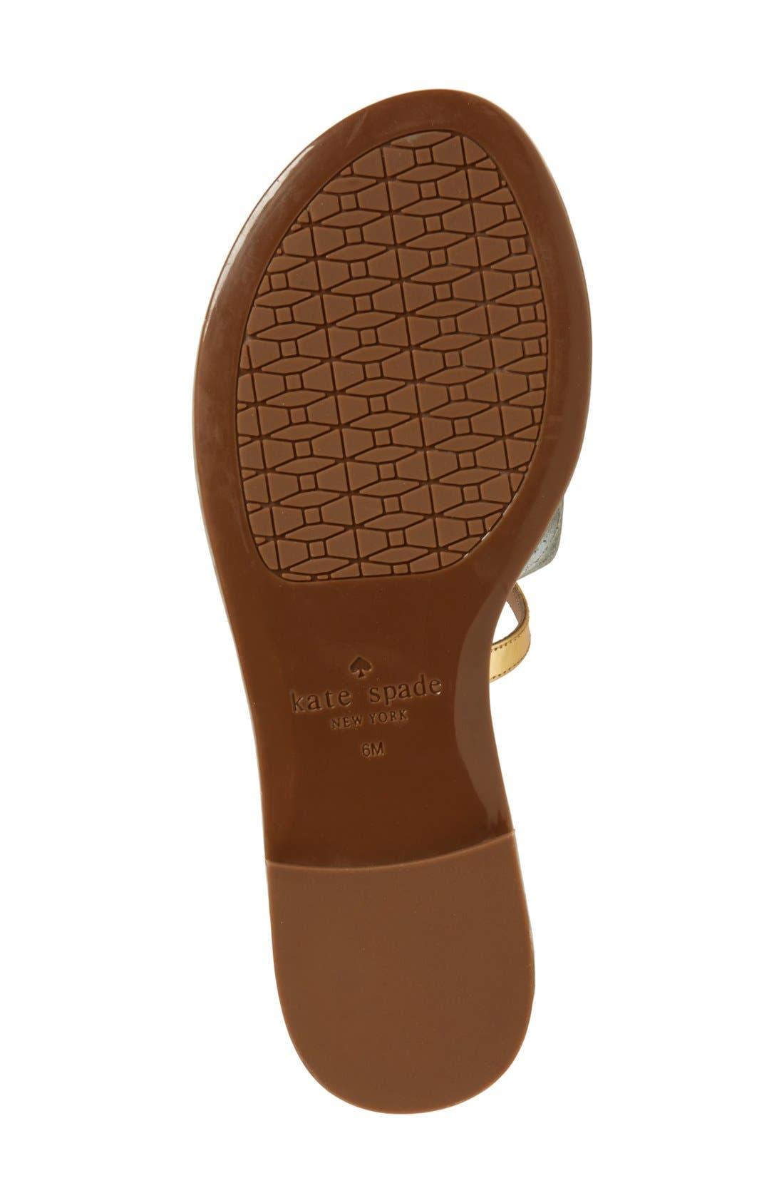 Alternate Image 4  - kate spade new york 'solana' palm tree sandal (Women)
