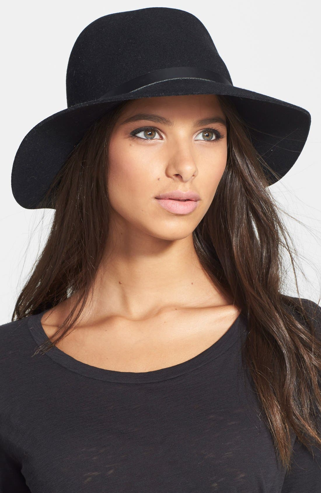 Alternate Image 1 Selected - rag & bone Floppy Brim Felted Wool Fedora