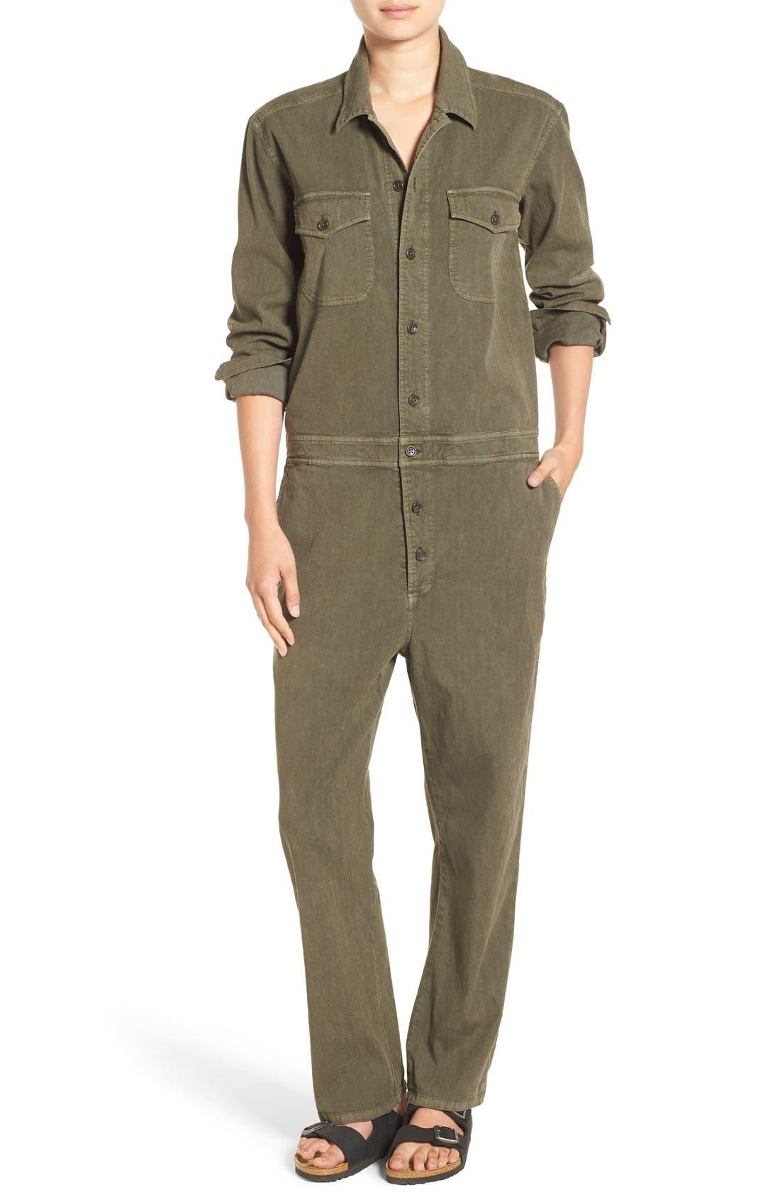James Perse Cotton & Linen Jumpsuit
