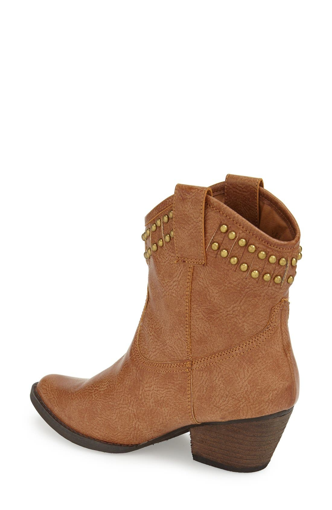 Alternate Image 2  - Very Volatile 'Lunet' Studded Western Bootie (Women)