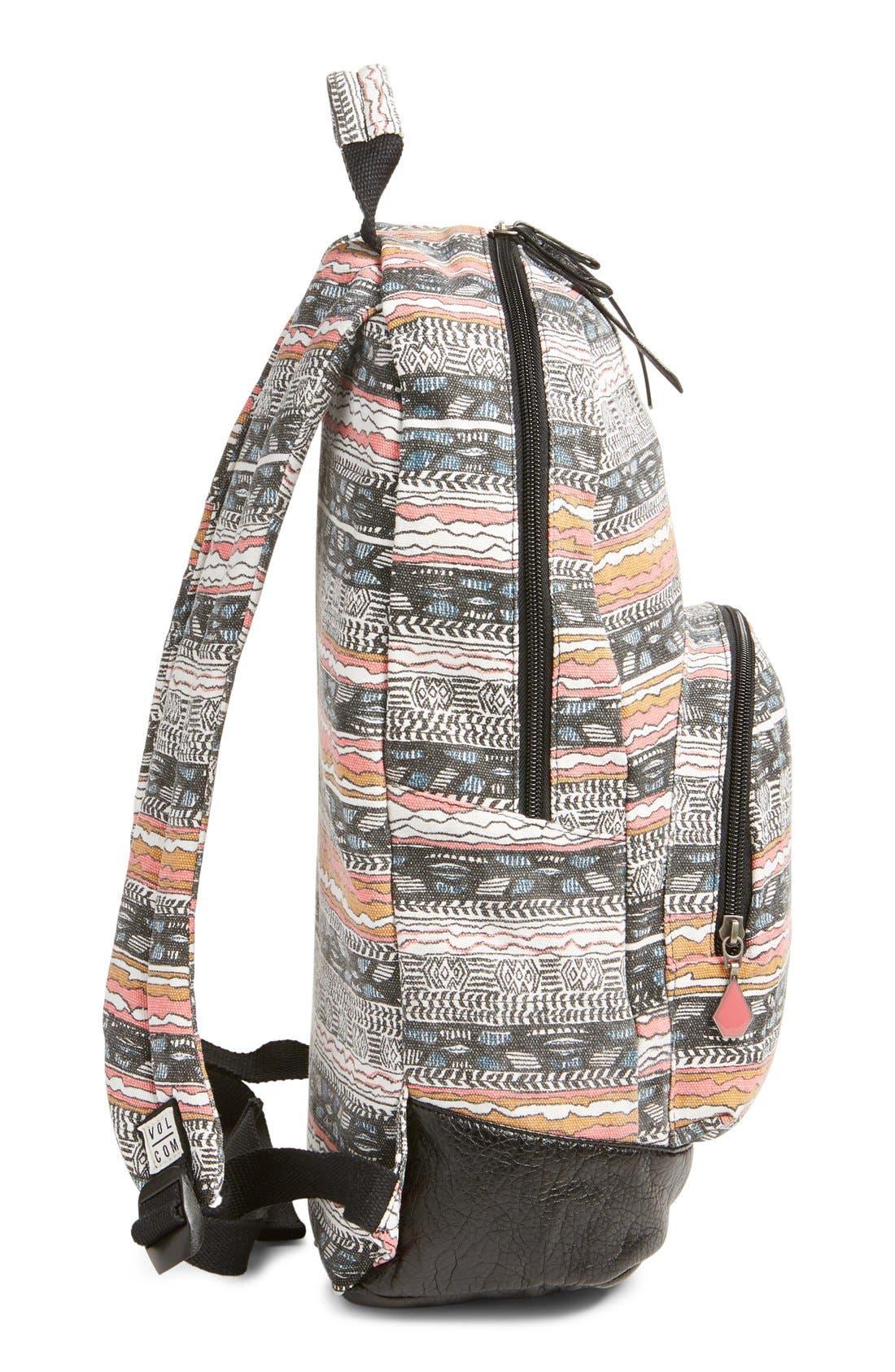 Alternate Image 5  - Volcom 'Schoolyard' Canvas Backpack