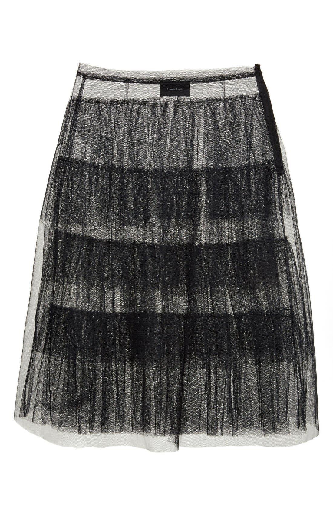 Alternate Image 5  - Simone Rocha Tiered Net Skirt