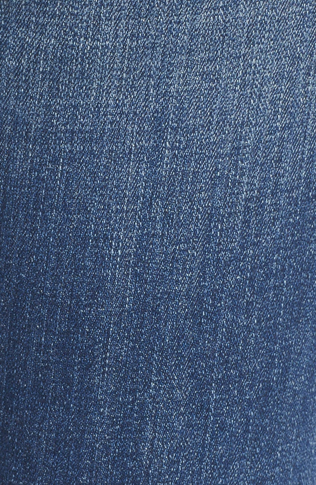 Alternate Image 6  - Lucky Brand 'Lolita' Distressed Stretch Skinny Jeans (Morrison)