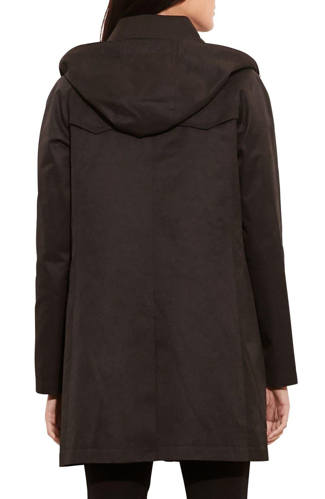 Alternate Image 2  - Lauren Ralph Lauren A-Line Jacket with Removable Liner