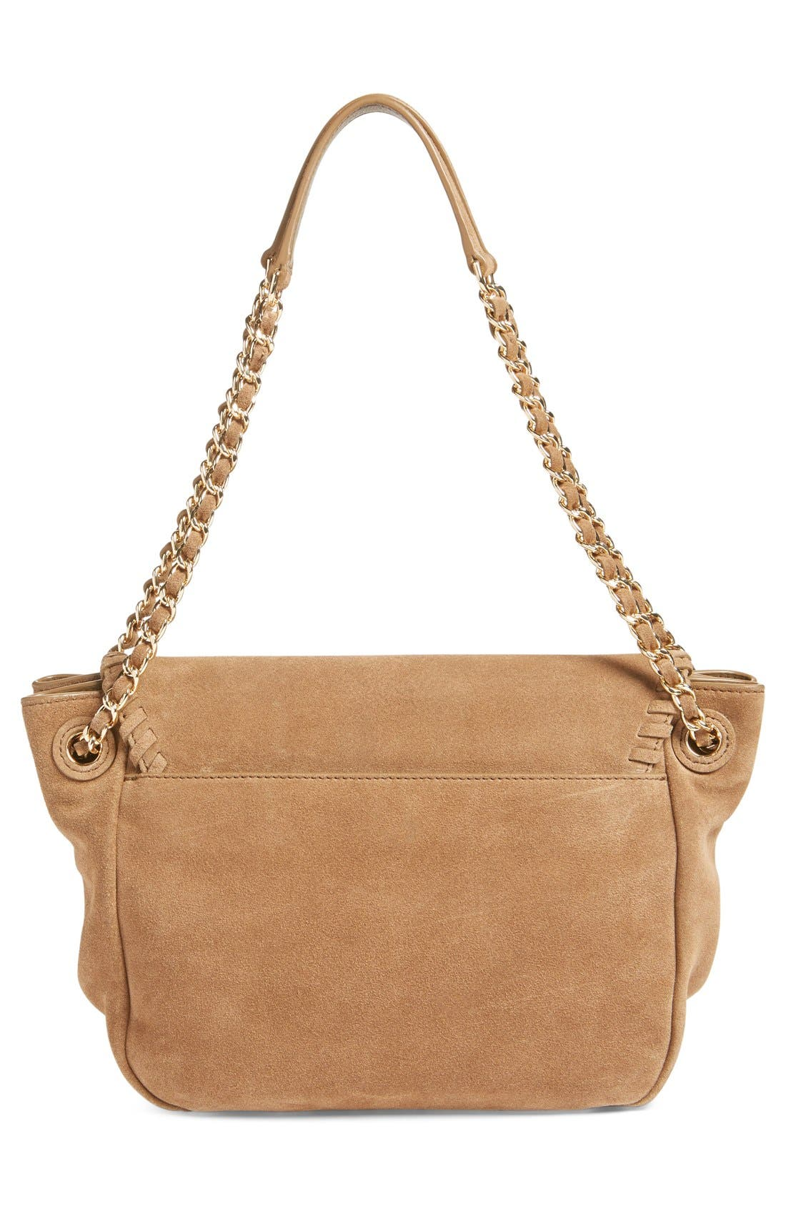 Alternate Image 2  - Tory Burch 'Small Marion' Suede Shoulder Bag