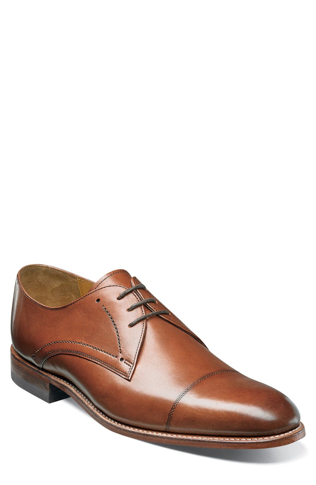 Stacy Adams Madison II Cap Toe Derby (Men)