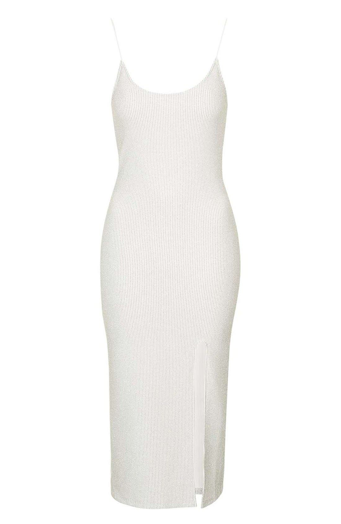 Alternate Image 4  - Topshop Scoop Neck Midi Dress