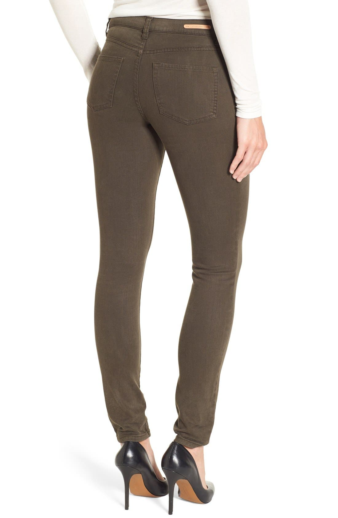 Alternate Image 2  - Caslon® Colored Skinny Jeans