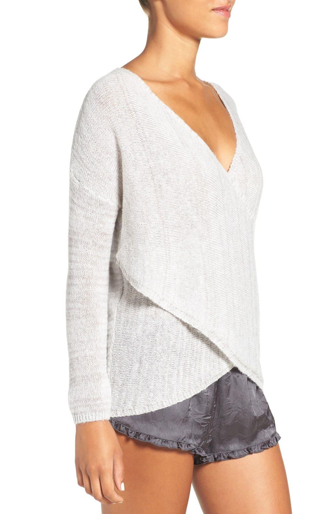 Alternate Image 3  - Chelsea28 Cross Front Sweater