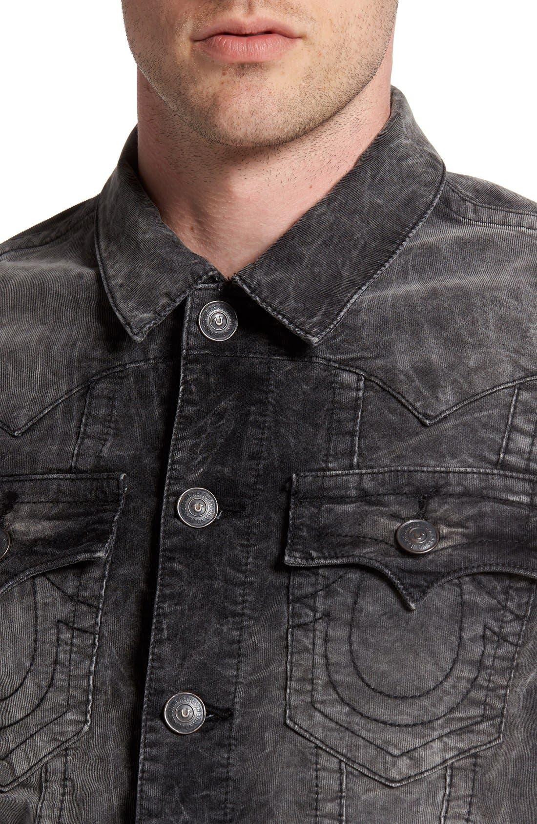 Alternate Image 4  - True Religion Brand Jeans 'Jimmy' Corduroy Western Jacket