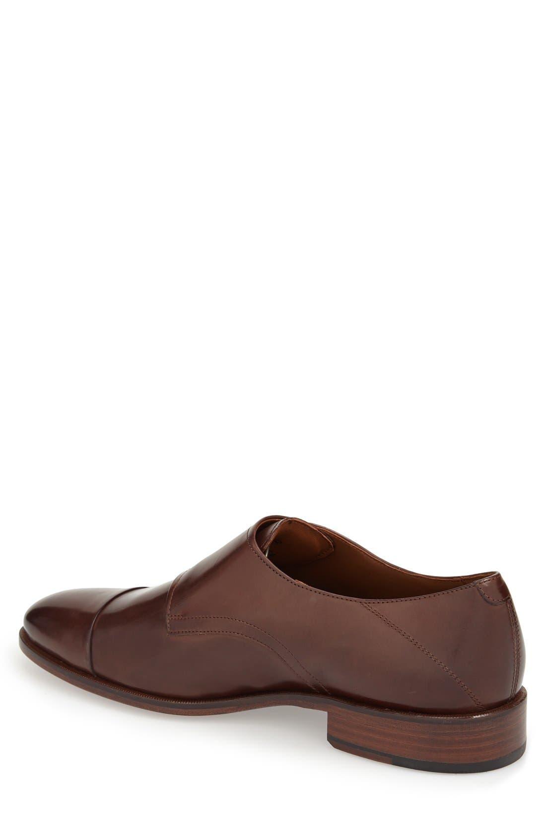 Alternate Image 2  - Johnston & Murphy 'Nolen' Double Monk Strap Shoe (Men)