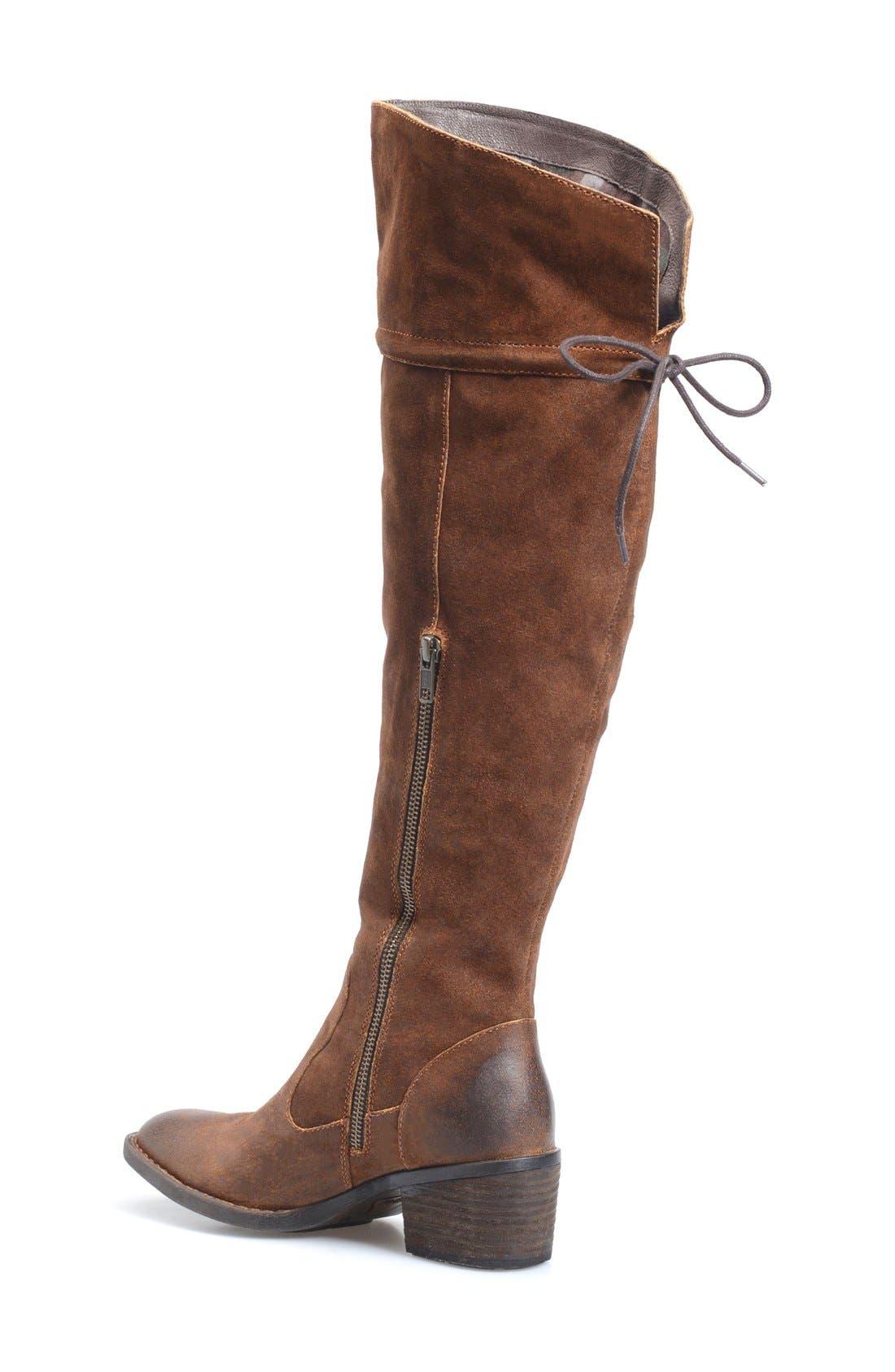 Alternate Image 2  - Børn 'Gallinara' Over the Knee Boot (Women)