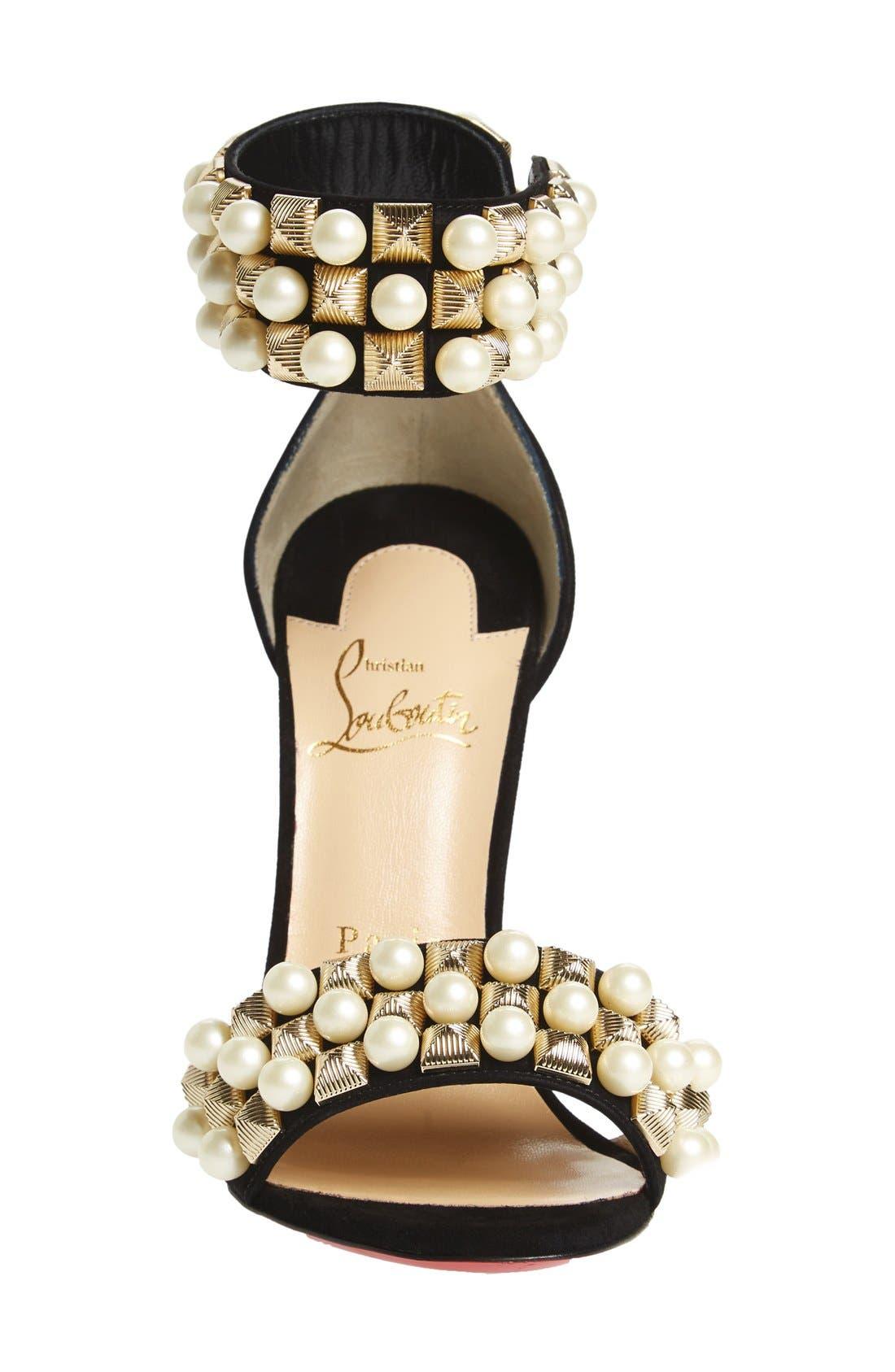 Alternate Image 3  - Christian Louboutin 'Tudor Bal' Embellished Cuff Sandal