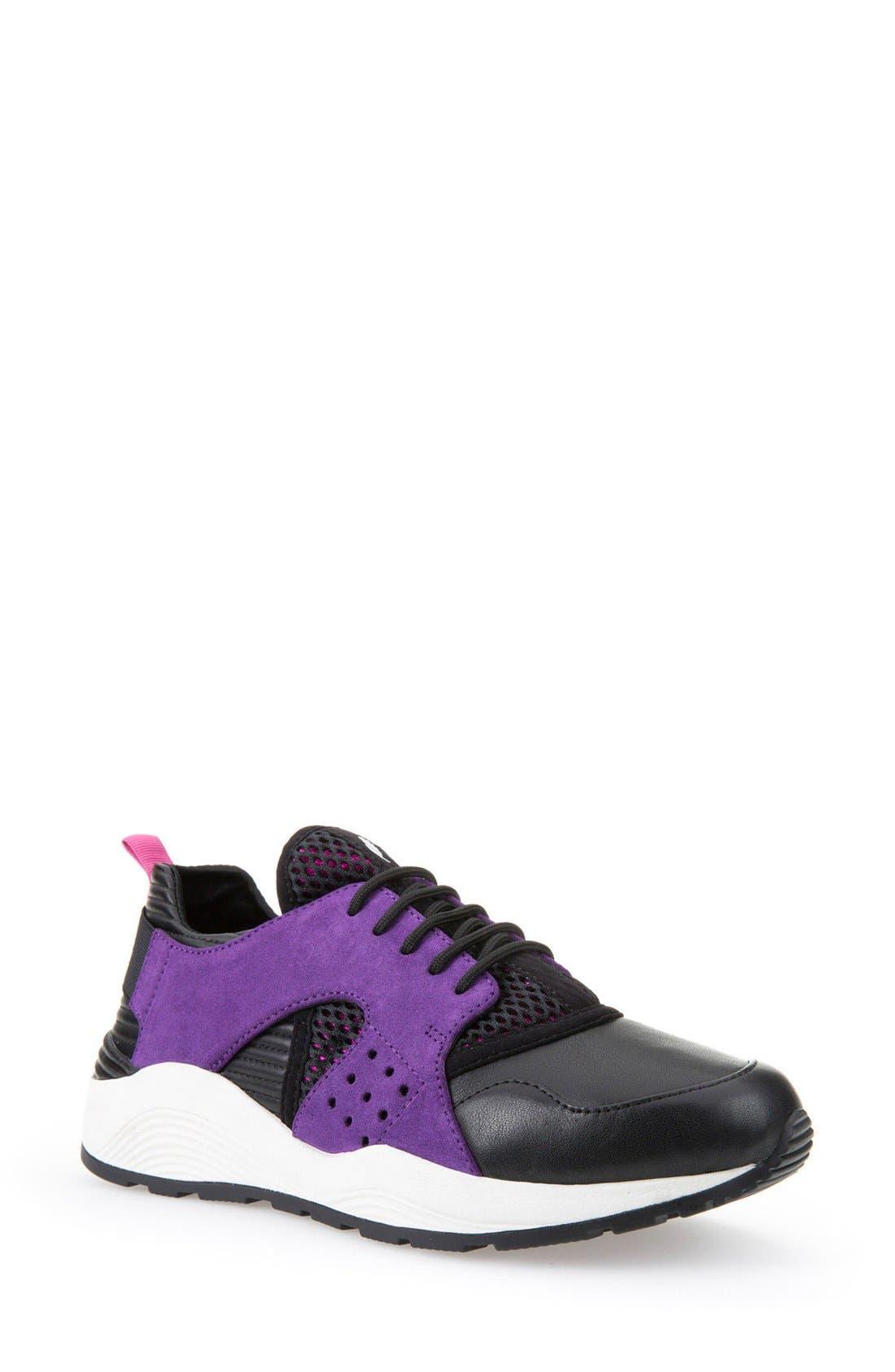 Alternate Image 1 Selected - Geox 'Omaya' Sneaker (Women)