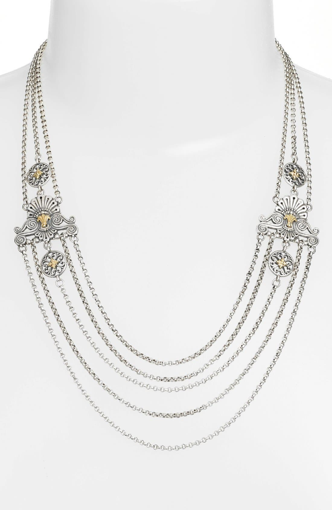 Konstantino 'Penelope' Multistrand Collar Necklace