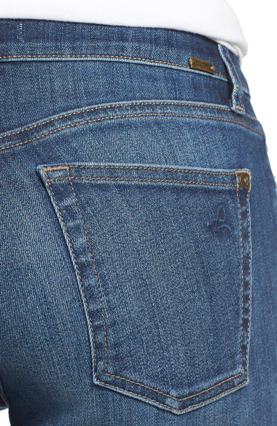 Alternate Image 4  - DL1961 'Florence' Skinny Jeans (Athena)