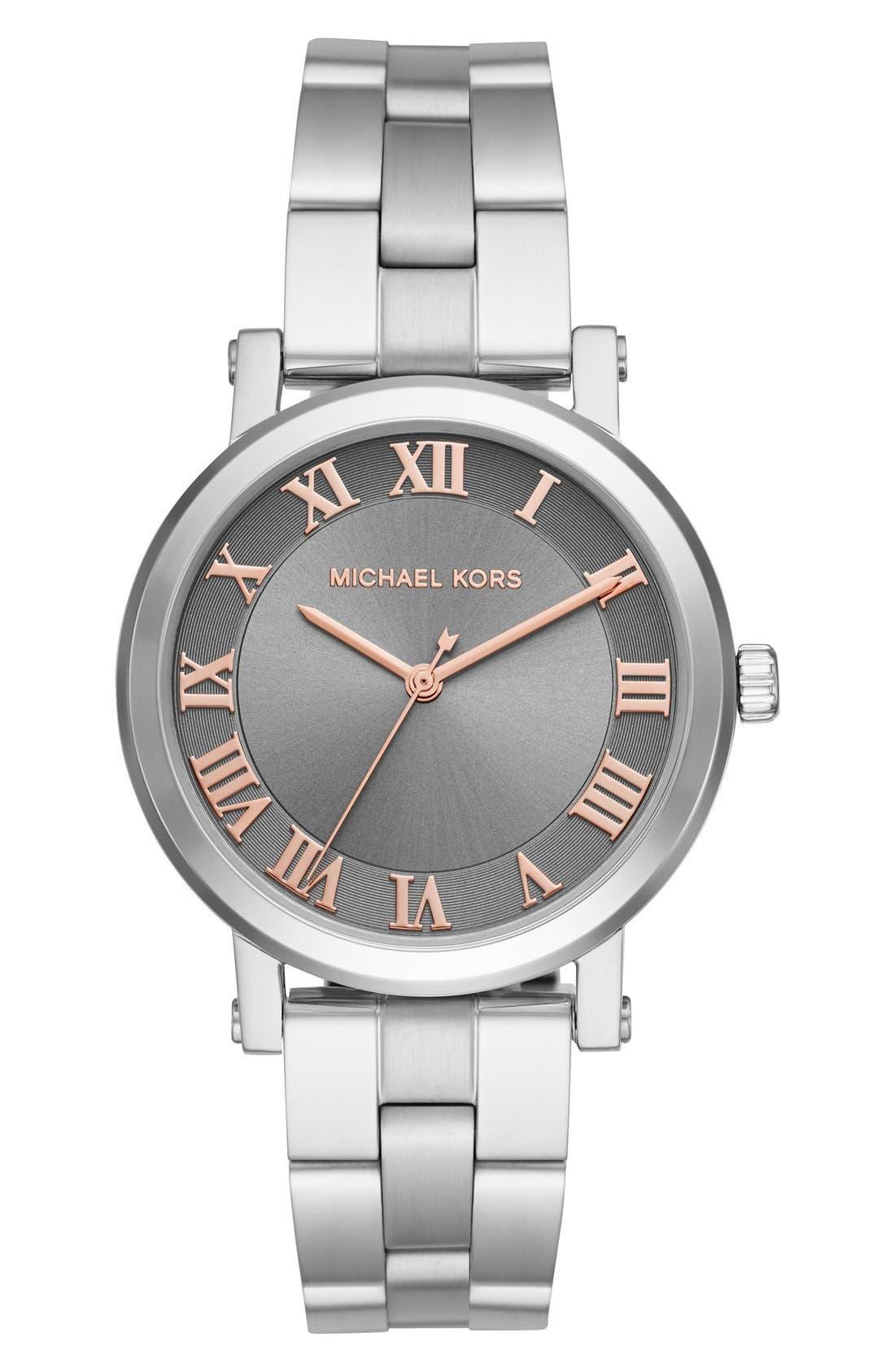 Alternate Image 1 Selected - Michael Kors 'Norie' Bracelet Watch, 38mm